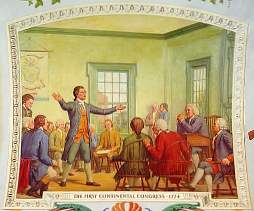 1774 - 1st Continental Congress