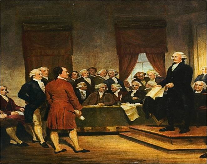 1787 – American Constitutional Convention
